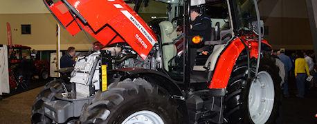 2013 Massey Ferguson 5609 Cab Tractor