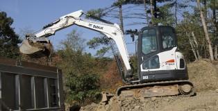 Bobcat-E63-compact-excavators