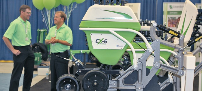 The CX 6 Trident Row unit by Clean Seed