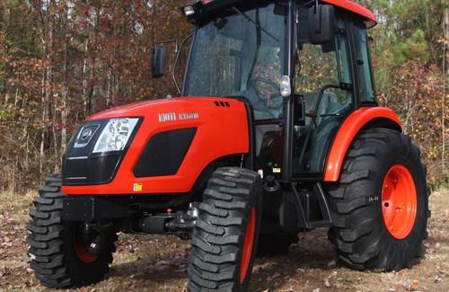 2013 Kioti RX6010PC Cab Tractor