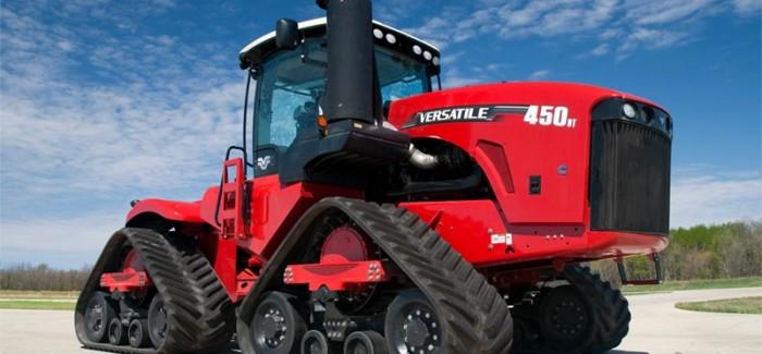 Versatile DeltaTrack tracked tractor