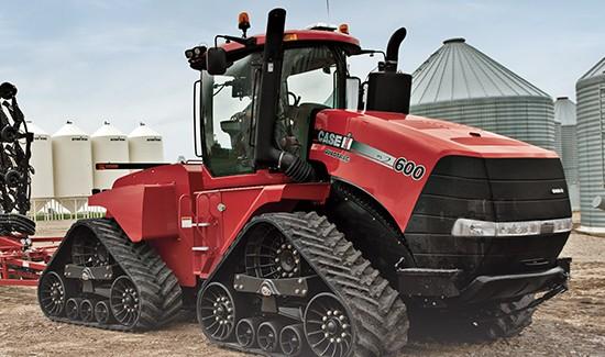 Трактор Case IH Steiger Quadtrac 600