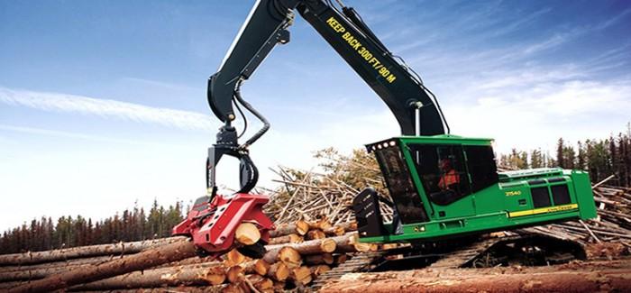 John Deere Improves Fuel Economy on Forestry Swing Machines