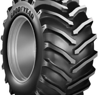 Goodyear OPTITRAC H+ Линейка шин для сельхозтехники
