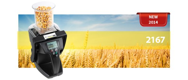 Grain Moisture Tester PLUS – with test weight