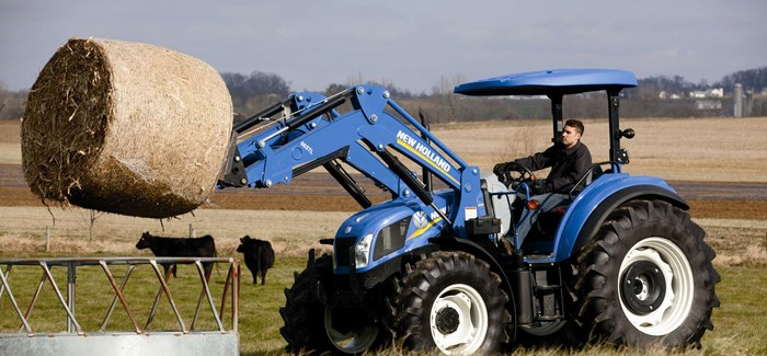 New Holland: T4 Series Tier 4A Tractors