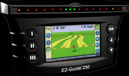 Система параллельного вождения «AgGPS® EZ-Guide® 250»