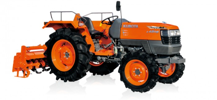 Kubota Tractor Hood : Kubota tractor l agricultural review