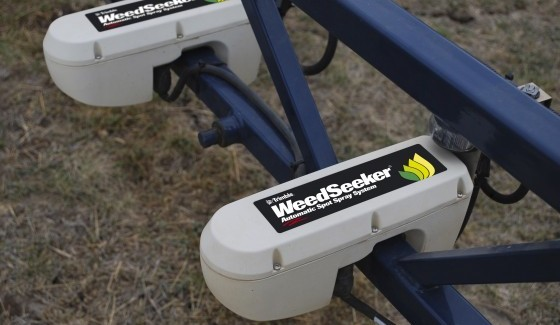 Weedseeker – automatic spot spray system