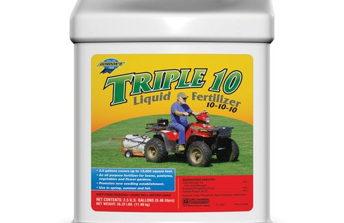 Nitrogen fertilizer: Triple Ten