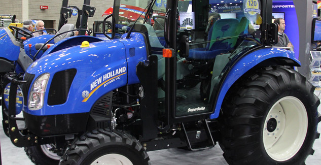 New Holland Boomer 54D CVT Cab Review