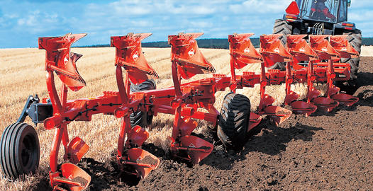 Semi-mounted plows Kuhn Manager/Challenger
