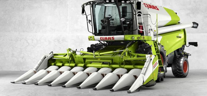 CLAAS combine harvesters TUCANO 450-320