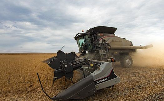 AGCO Introduces 9255 DynaFlex Draper