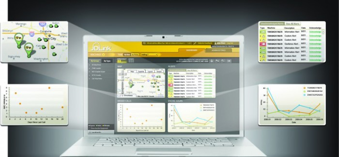 John Deere Unveils JDLink™ Dashboard for Customers to Better Understand and Manage Equipment