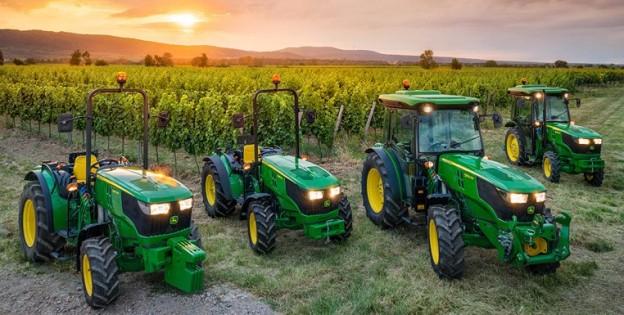 John Deere представил свою последнюю линейку специализированных тракторов серии 5G