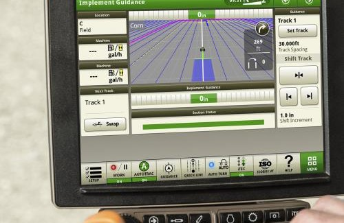 Deere introduces new advanced guidance and machine data for generation 4 displays
