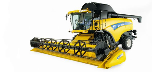 New Holland: CX8080 Tier 4 Combine   Agricultural Review