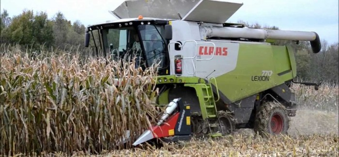 Claas Lexion 780 Terra Trac Combine harvester | Agricultural