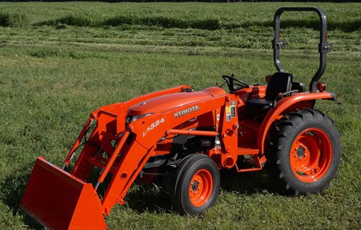 2014 Kubota L3800 HS   Agricultural Review