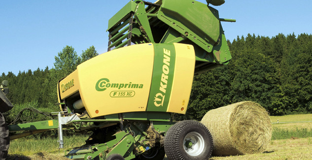 Krone Comprima Round Balers | Agricultural Review